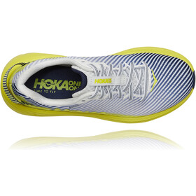 Hoka One One Rincon 2 Zapatillas Running Mujer, blanco/amarillo